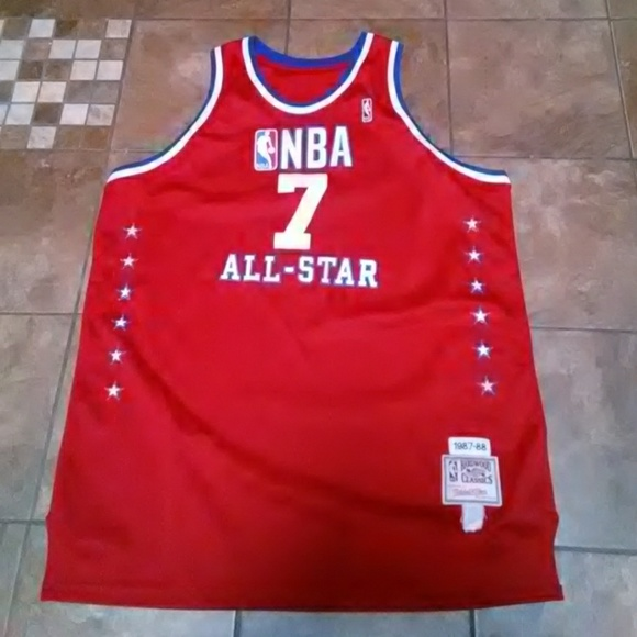 100% authentic a67b6 1784c Men's NBA Karl Malone All-Star Jersey